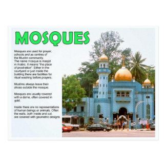 Religion, Islam, Mosques Postcard