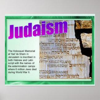 Religion, Judaism, Holocaust memorial Poster