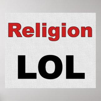 Religion LOL Print