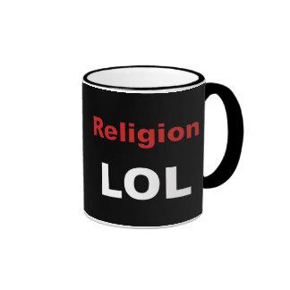 Religion LOL Ringer Coffee Mug