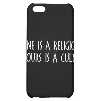 Religion Or Cult? iPhone 5C Cover