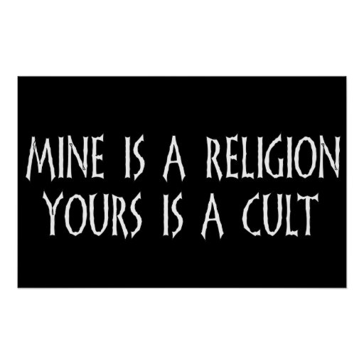 Religion Or Cult? Print