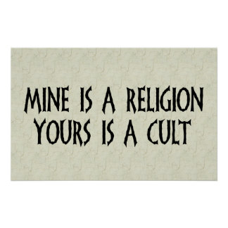 Religion Or Cult? Poster