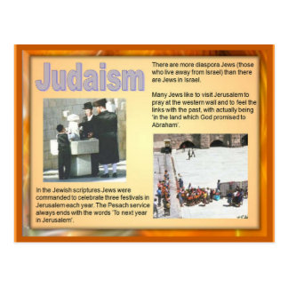Religion, Pilgrimage Judaism Postcard
