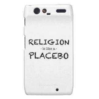 religion placebo motorola droid RAZR case