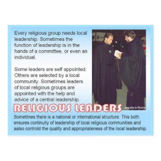 Religion, Religious leaders Postcard