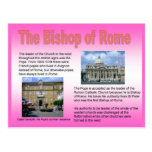 Religion, Roman Catholic, Bishop of Rome Postcard