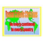 Religion, Roman Catholics in every country Postcards