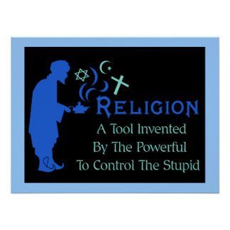 Religion Tool Poster