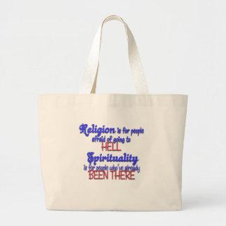 Religion VS Spirituality Bag