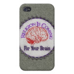 Religion Wants Your Brain iPhone 4 Case