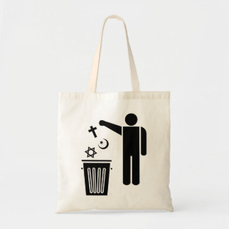 Religion Wastebin Canvas Bags