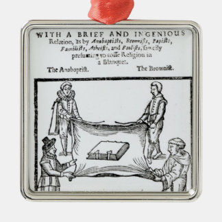 Religions Enemies, 1641 Christmas Ornament