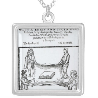 Religions Enemies, 1641 Silver Plated Necklace