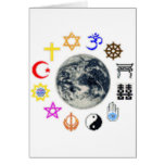 RELIGIONS of the WORLD Greeting Cards