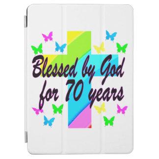 RELIGIOUS 70TH BIRTHDAY CROSS DESIGN iPad AIR COVER