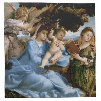 Religious Art cloth napkins