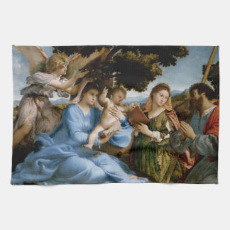 Religious Art hand towel