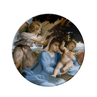 Religious Art porcelain plates