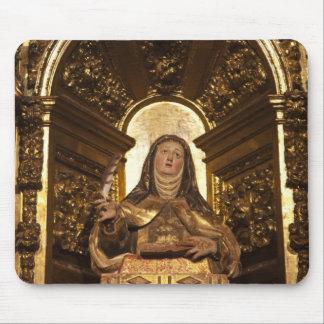 Religious art representing Santa Teresa 2 Mouse Mat