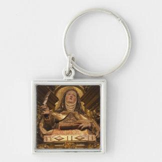 Religious art representing Santa Teresa Key Ring