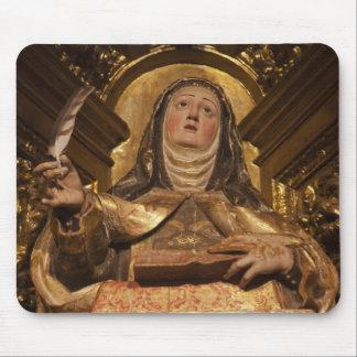 Religious art representing Santa Teresa Mouse Pad
