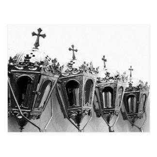 Religious artifacts postcard