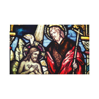 Religious Baptism Sacrament Canvas