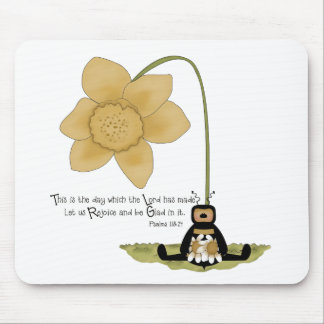 Religious Bee Mouse Pad