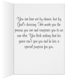 Religious Birthday Card