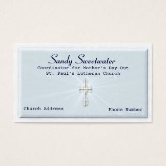 Religious Business Card Template