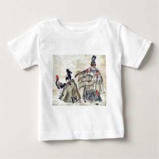 Religious ceremony with rooster Ukiyo-e. Shirt