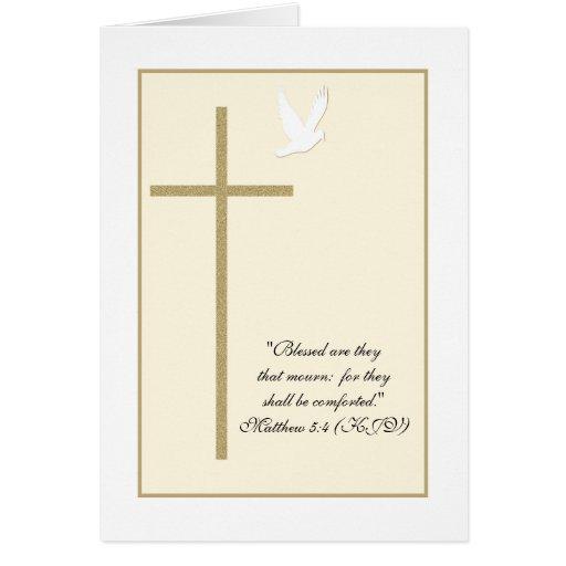 Christian Sympathy Cards, Christian Sympathy Card Templates ...