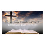 Religious Church Christianity Religion Pastor Pack Of Standard Business Cards