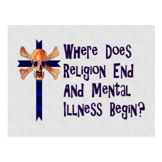 Religious Crazies Postcards