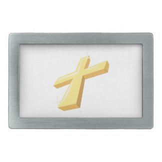 Religious Cross Belt Buckle