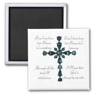 Religious Cross magnet