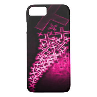Religious Fractal Pink iPhone 7 Case