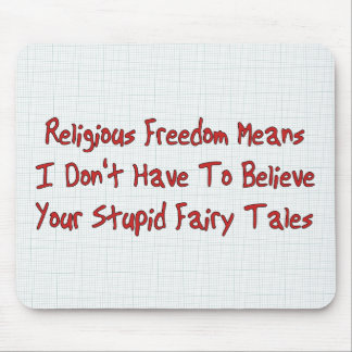Religious Freedom Mouse Pad