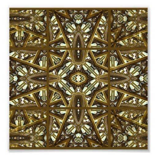 Religious Glass Artwork Mockup Art Photo