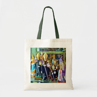 RELIGIOUS ICONS IN LISBON SHOP WINDOW TOTE BAG