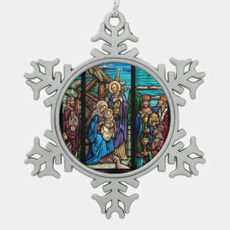 Religious image for  Pewter Snowflake Ornament