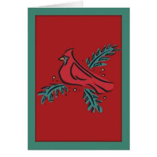 Religious Irish Christmas Blessing Card
