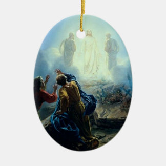 Religious Jesus in spirit form painting ornament