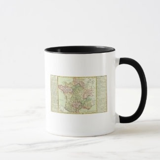 Religious map of France Mug