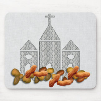 Religious Nuts Mousepads