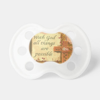RELIGIOUS PACIFIER