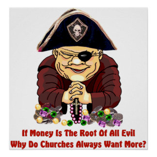 Religious Pirate Poster
