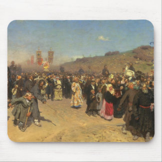 Religious Procession in Kursk Province Mousepad