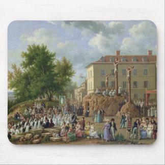 Religious Procession to Mont Valerien, 1819 Mousepad
